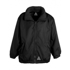 Jacket Reversible Fleece - Black